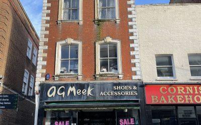 No 14 Westgate Street (Meeks Shoes)